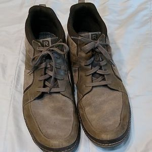 Rockport Shoes - Mens Rockport Casual Shoes Leather Gray Size 16 M